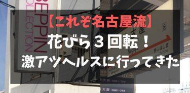 夢の花びら3回転体験!名古屋流ヘルス「べっぴんコレクション」が最高すぎた件